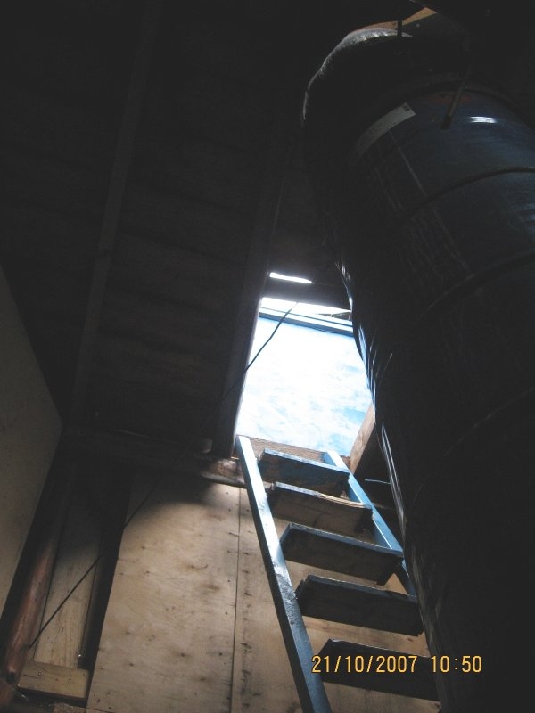 Лестница на третий: